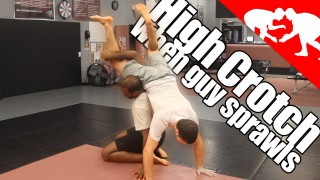 What to do when someone Sprawls after you try High Crotch Takedown –  Jahsua Marsh