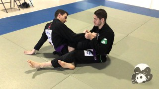 Wristlock from 50/50 to Guard Pass – Phil Mento