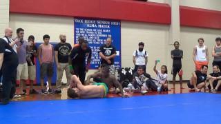 15 yr Old Green Belt Defeats BJJ Black Belt in Competition