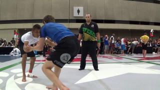16 Year old Blue Belt submits Black Belt