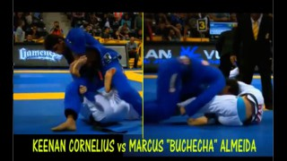A little bit of action from Worlds: Cornelius vs Buchecha