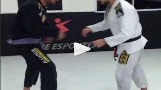 Single Leg X Guard Drill – Thomas Lisboa