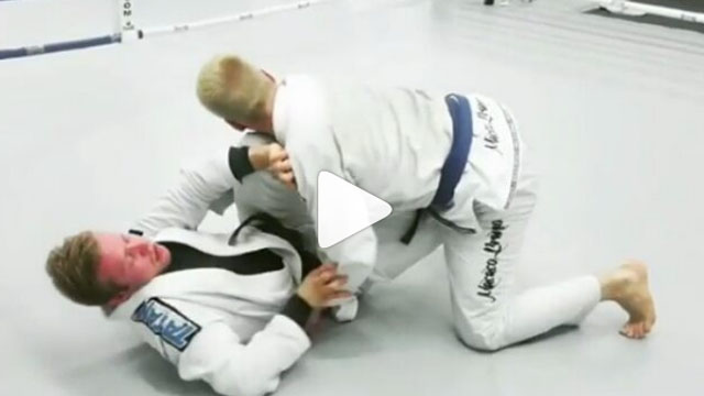 Crazy Kimura Trap Back Take