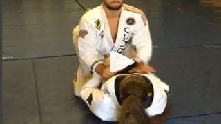 Crazy Guard Sweep to Submission – Dominyka Obelenyte
