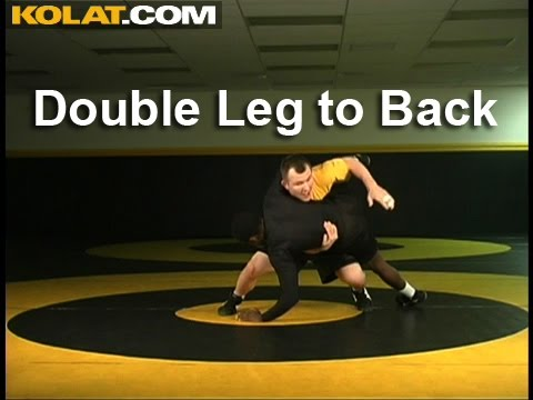Double Leg into Taking the Back – Cary Kolat