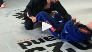 Arnaldo Maidana showing some nice moves on Buchecha!