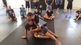 A back take off a knee slice pass – Tom DeBlass