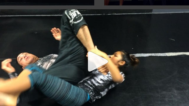 Modified Twister – Eddie Bravo & Cora Sek