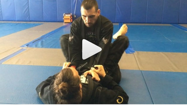 Sneaky triangle set up – Mike Bidwell