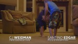 Frankie Edgar and Chris Weidman's sons Wrestling