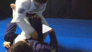 Defend the Single Lex X guard and Finish with a Kimura – Tammi and Mikey Musumeci