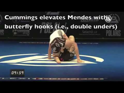 Basic Leg Defense: A Polaris 3 Study (Mendes vs. Cummings)