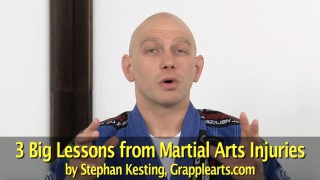 Big Lessons From Martial Arts Injuries-   Stephan Kesting