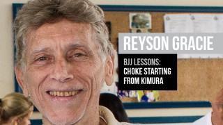 Choke starting from kimura attack – Reyson Gracie