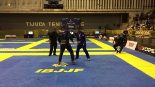Erberth Santos vs Patrick Gaudio – Rio Winter Open class final
