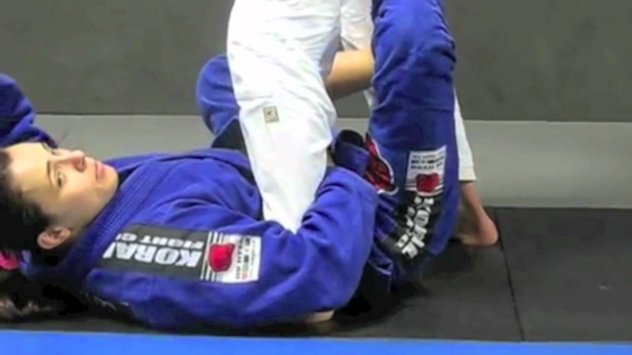 Footlock From X Guard Sweep – Michelle Nicolini