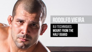 Mount From The Half Guard – Rodolfo Vieira