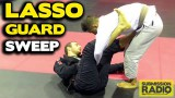 Simple Sweep,  Lasso Guard to Side Control –  Michael Tohme