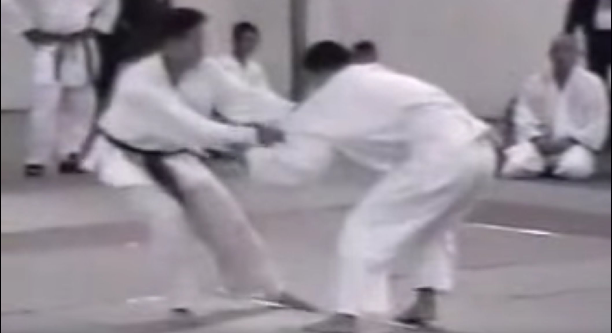White Belt BJ Penn Beats Black Belt Judoka in Judo Tournament