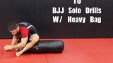 10 BJJ Solo Drills W/ Heavy Bag  – Nick Albin