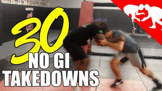 30 Best No Gi Takedowns