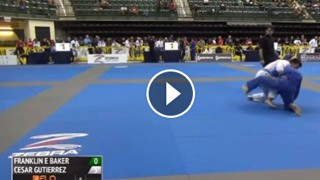 Slick single leg at the IBJJF Chicago Summer Open