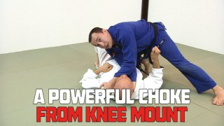 A Powerful Choke from Knee Mount – Denis Kang