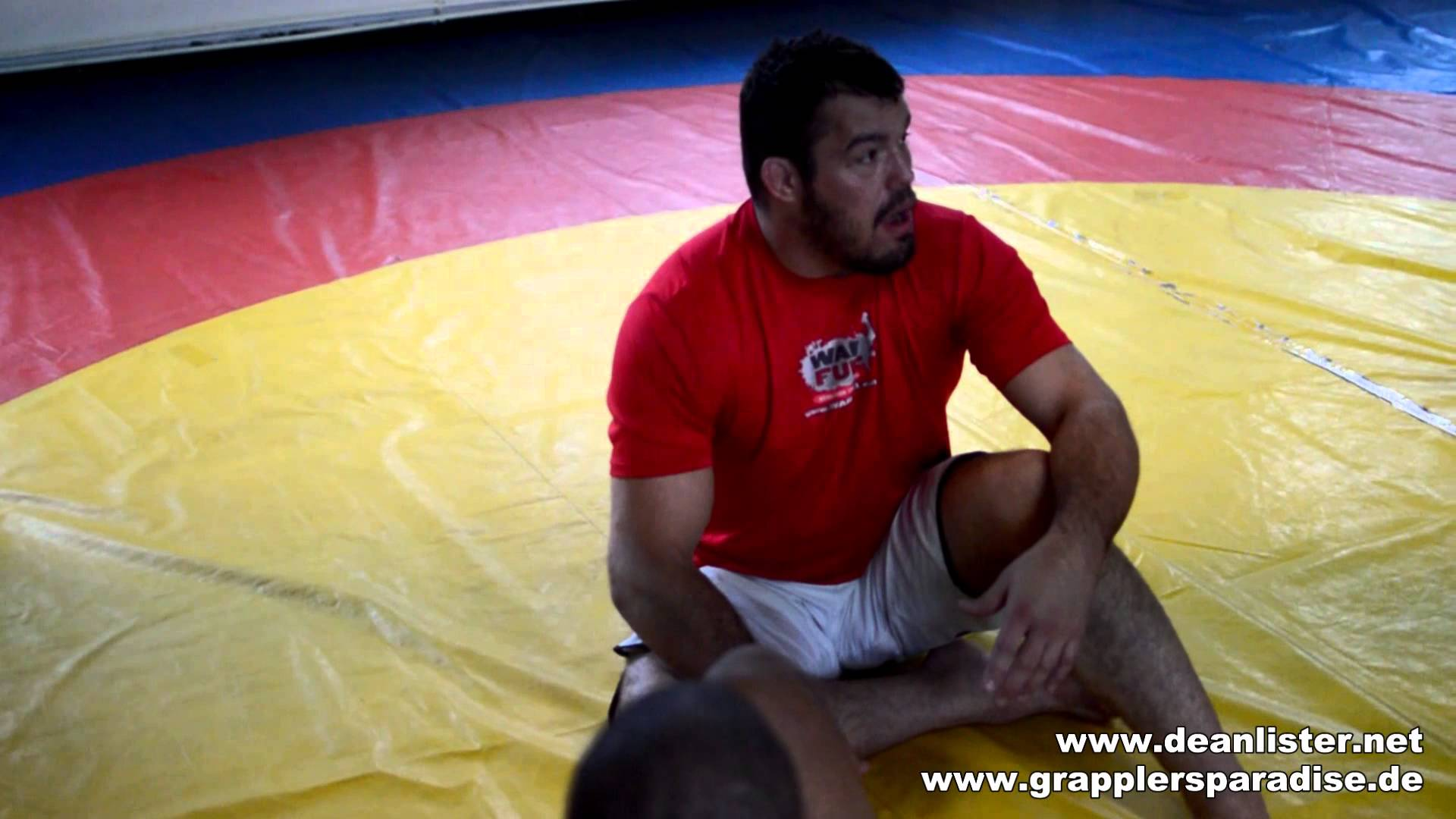 Dean Lister's straight ankle lock & counter