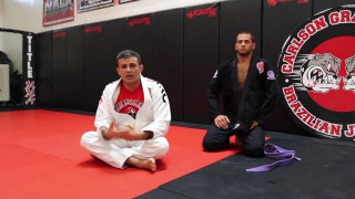 Escape From Mount To Deep Half Guard –  Ricardo Cavalcanti