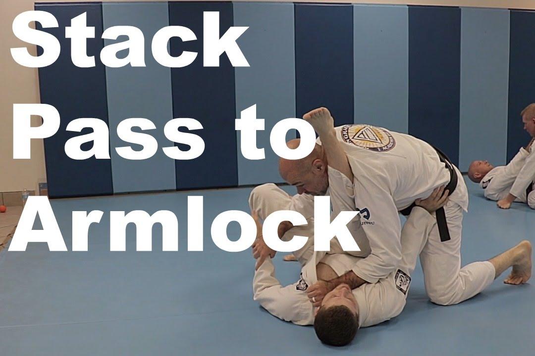 Stack Pass to Armlock – Relson Gracie Jiu-Jitsu Academy