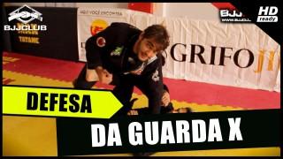 X Guard Defense  – Luiz Panza