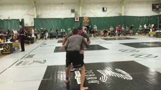 155lb 17 year old submits 340lbs wrestler in Advanced Absolute