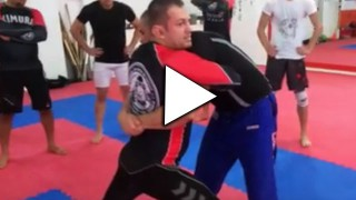 Awesome counter throw to double underhooks- Coach Zoran Spasojevic