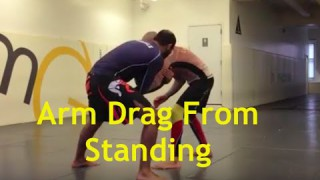 Arm Drag Trap From Standing – Bernardo Faria