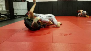 Arm Drag vs Over Under Pass, Back to Reverse Triangle – Brandon Quick