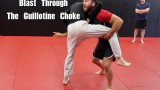 Blast Through The Guillotine Choke With A Double Leg Takedown – Nick Albin