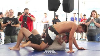 CM Punk's Open Workout vs Mikey Gall's Open Workout