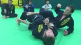 Crunch and turn back escape drill  – Revolution BJJ