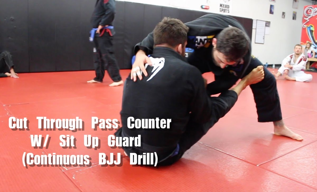Cut Through Pass Counter Using Sit Up Guard Adjustment – Nick Albin