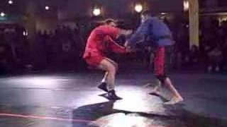 Sambo World Champ vs BJJ Black Belt