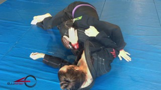 Stealthy Triangle set-up to Shoulder Lock! – Mike Bidwell