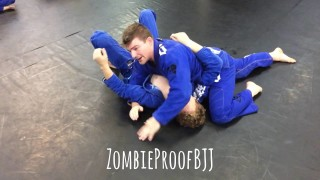 Backtake & Choke from Side Control plus Wrist Lock – Kent Peters