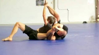 Carni – Gogo Clinch – Hazeleg Sweep Variation From Rubber Guard – Brandon Mccaghren