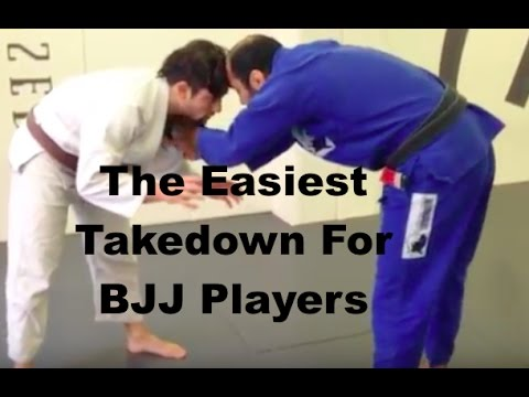 Easiest Takedown For BJJ Players by Bernardo Faria
