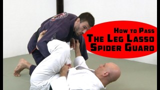 How to Pass Leg Lasso Spider Guard with Leverage