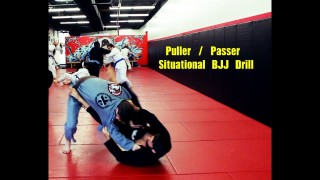 Puller / Passer Situational BJJ Drill  – Nick Albin