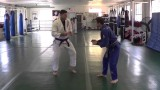 Seth Daniels demonstrates Outside Foot Sweeps