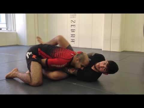 Triangle From Z Guard/Knee Shield by Dillon Danis & Bernardo Faria
