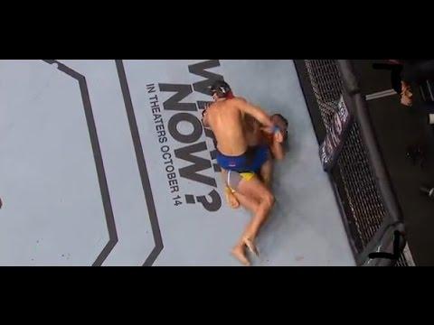 UFC 204: Struve vs Omielanczuk Fight Ended In a Choke Out
