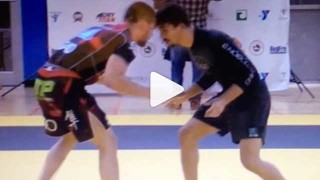 Enrico Cocco Posts One Of His Favorite Wrestling Moves From Tonon Fight